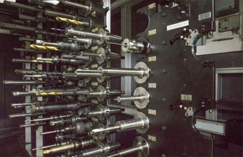 横型マシニングセンタ